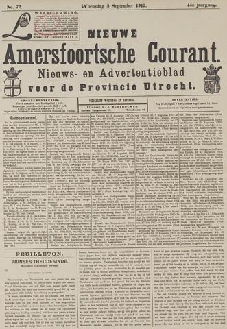 Nieuwe Amersfoortsche Courant 1915-09-08