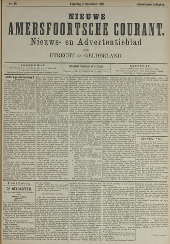 Nieuwe Amersfoortsche Courant 1888-11-03