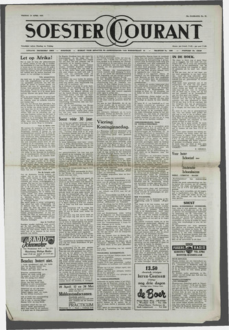 Soester Courant 1952-04-25