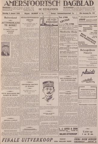 Amersfoortsch Dagblad / De Eemlander 1935-01-05