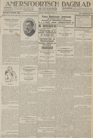 Amersfoortsch Dagblad / De Eemlander 1928-11-12