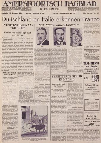 Amersfoortsch Dagblad / De Eemlander 1936-11-19