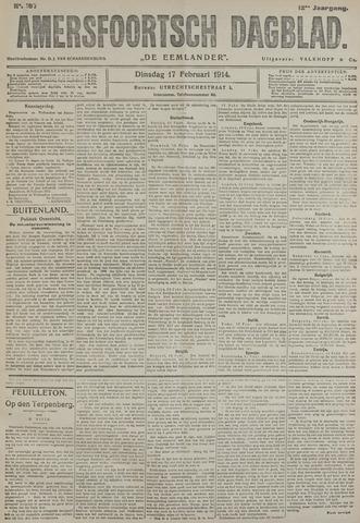 Amersfoortsch Dagblad / De Eemlander 1914-02-17