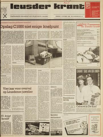 Leusder Krant 1988-10-11