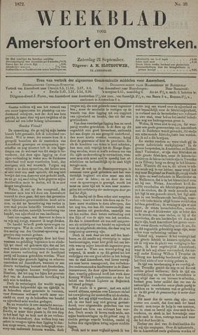Weekblad voor Amersfoort en Omstreken 1872-09-21