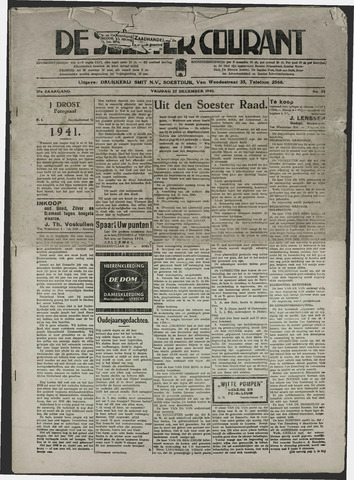 Soester Courant 1940-12-27