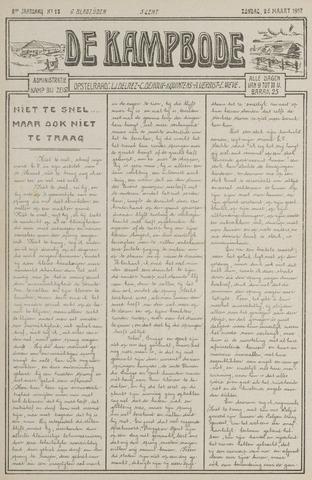 De Kampbode 1917-03-25