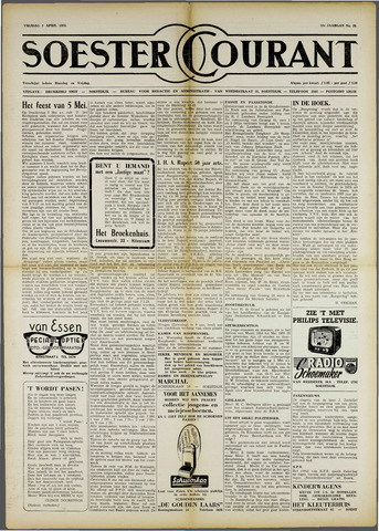 Soester Courant 1955-04-01