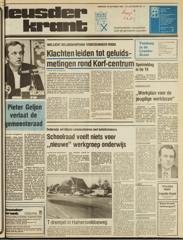 Leusder Krant 1982-10-19