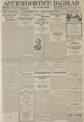 Amersfoortsch Dagblad / De Eemlander 1931-03-13