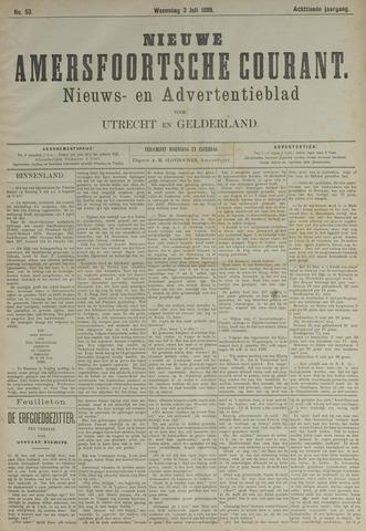 Nieuwe Amersfoortsche Courant 1889-07-03