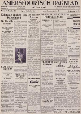 Amersfoortsch Dagblad / De Eemlander 1937-11-15