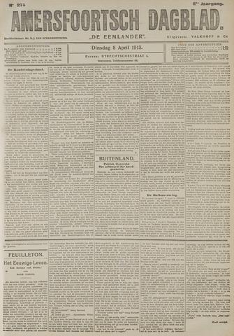 Amersfoortsch Dagblad / De Eemlander 1913-04-08