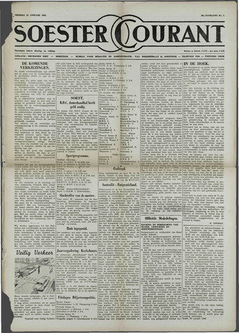 Soester Courant 1958-01-24