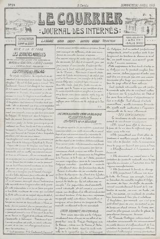 Le Courrier 1916-04-30