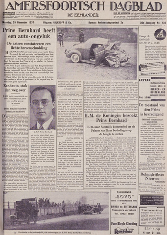 Amersfoortsch Dagblad / De Eemlander 1937-11-29
