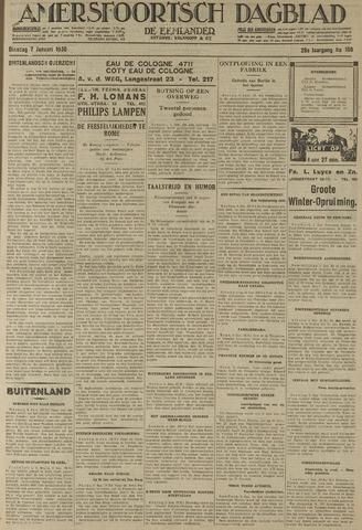 Amersfoortsch Dagblad / De Eemlander 1930-01-07