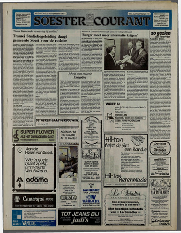 Soester Courant 1987-11-25