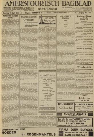 Amersfoortsch Dagblad / De Eemlander 1932-04-30