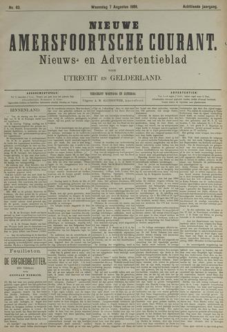 Nieuwe Amersfoortsche Courant 1889-08-07