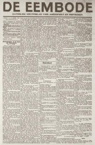 De Eembode 1921-04-12