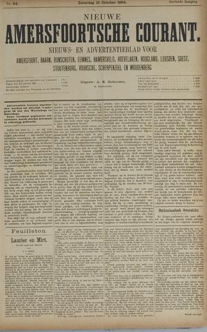 Nieuwe Amersfoortsche Courant 1884-10-18
