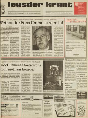 Leusder Krant 1987-08-20