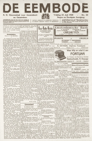 De Eembode 1925-07-24
