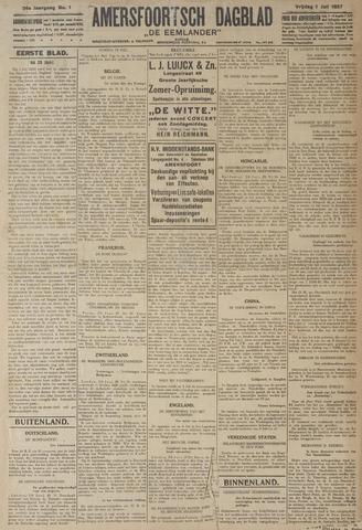 Amersfoortsch Dagblad / De Eemlander 1927-07-01