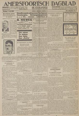 Amersfoortsch Dagblad / De Eemlander 1928-07-03