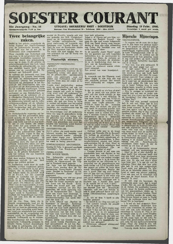 Soester Courant 1946-02-19