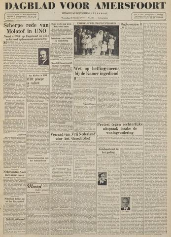 Dagblad voor Amersfoort 1946-10-30