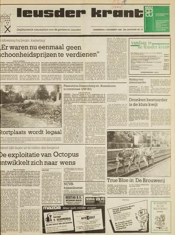 Leusder Krant 1988-11-03