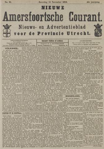 Nieuwe Amersfoortsche Courant 1916-11-11
