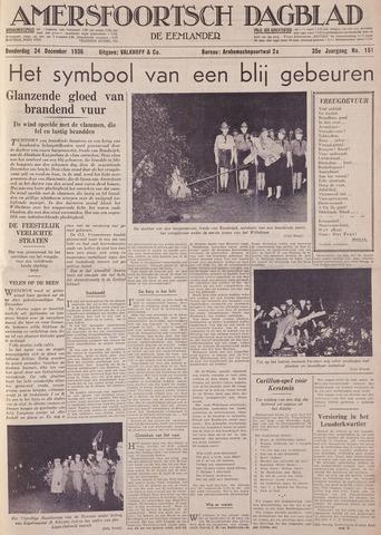 Amersfoortsch Dagblad / De Eemlander 1936-12-24