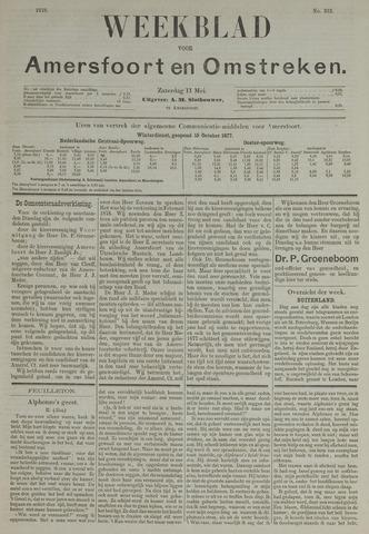 Weekblad voor Amersfoort en Omstreken 1878-05-11