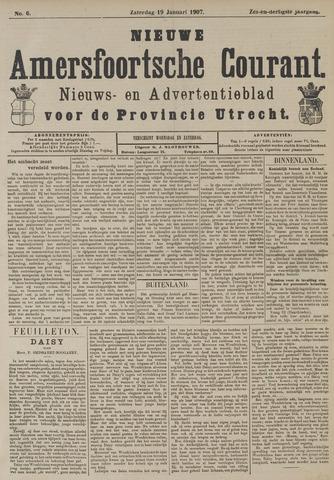 Nieuwe Amersfoortsche Courant 1907-01-19