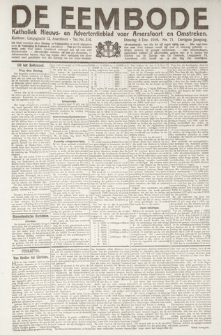 De Eembode 1916-12-05