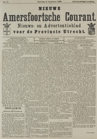 Nieuwe Amersfoortsche Courant 1909-09-11