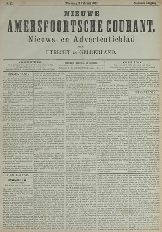 Nieuwe Amersfoortsche Courant 1887-02-09
