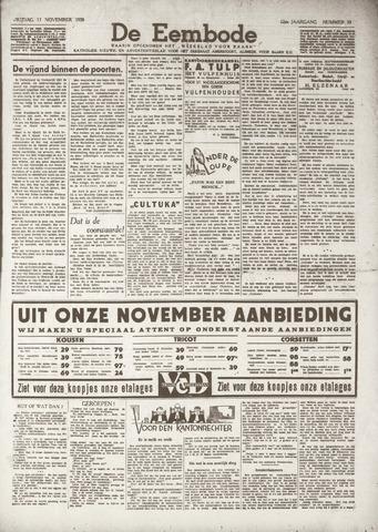 De Eembode 1938-11-12