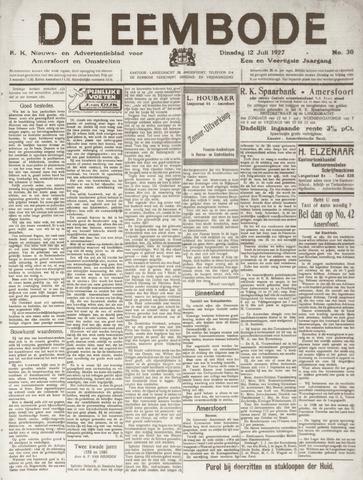 De Eembode 1927-07-12