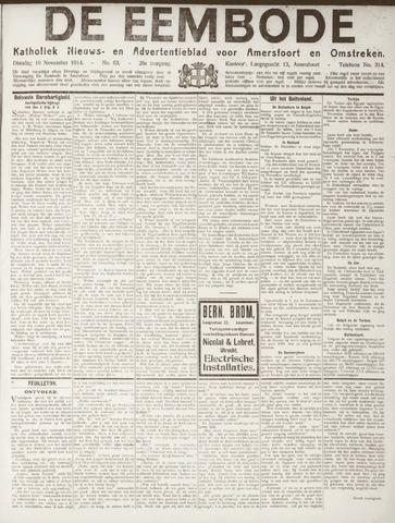 De Eembode 1914-11-10