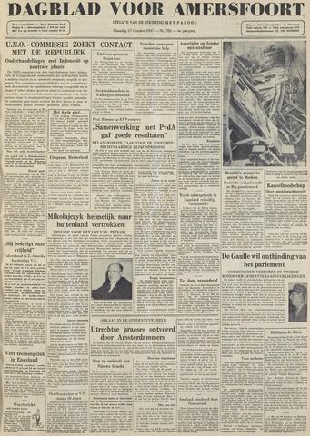 Dagblad voor Amersfoort 1947-10-27
