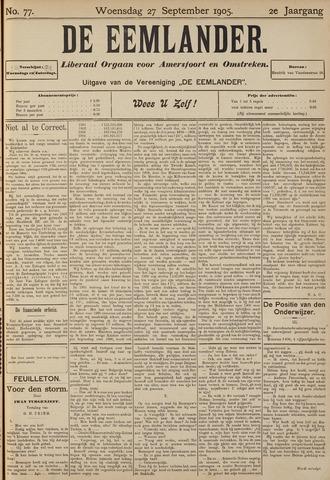 De Eemlander 1905-09-27
