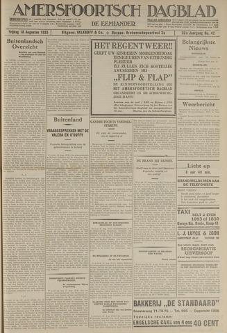 Amersfoortsch Dagblad / De Eemlander 1933-08-18
