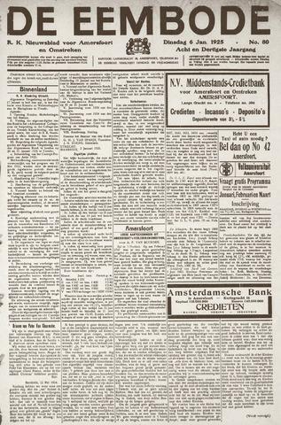 De Eembode 1925-01-06