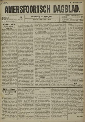 Amersfoortsch Dagblad 1908-04-30
