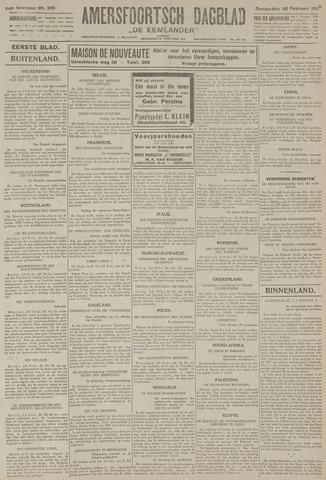 Amersfoortsch Dagblad / De Eemlander 1926-02-25