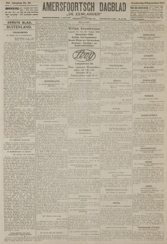 Amersfoortsch Dagblad / De Eemlander 1926-09-16